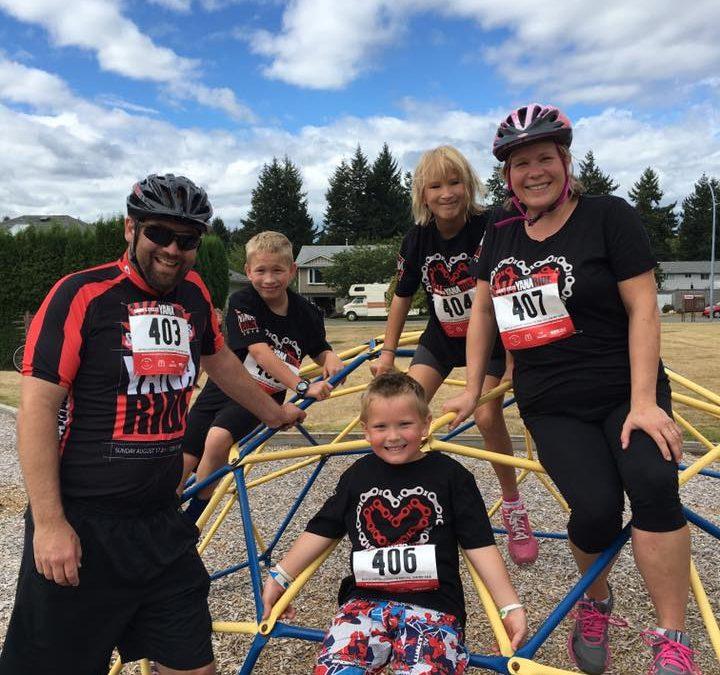 Family Fun at the 2016 YANA Ride