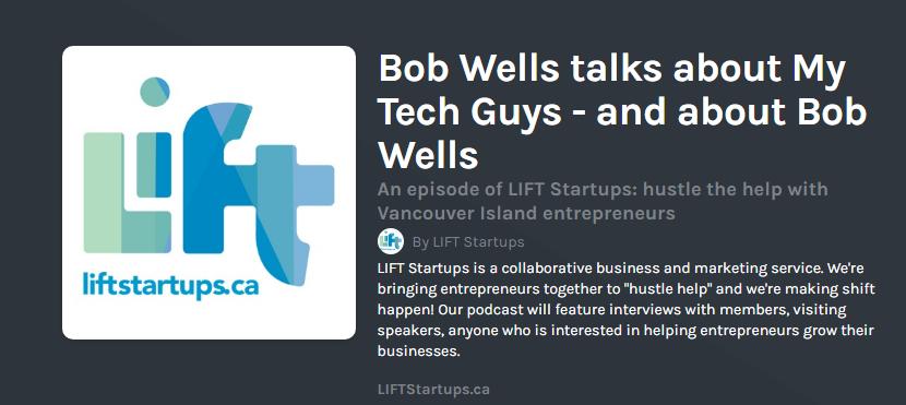 LIFT Podcast – HPM talks to Bob Wells