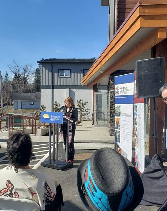 Affordable rental housing complex opens in Courtenay