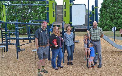 Courtenay's Hawk Glen Park playground renos complete