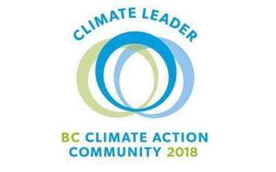 Courtenay Achieves Climate Action Milestone