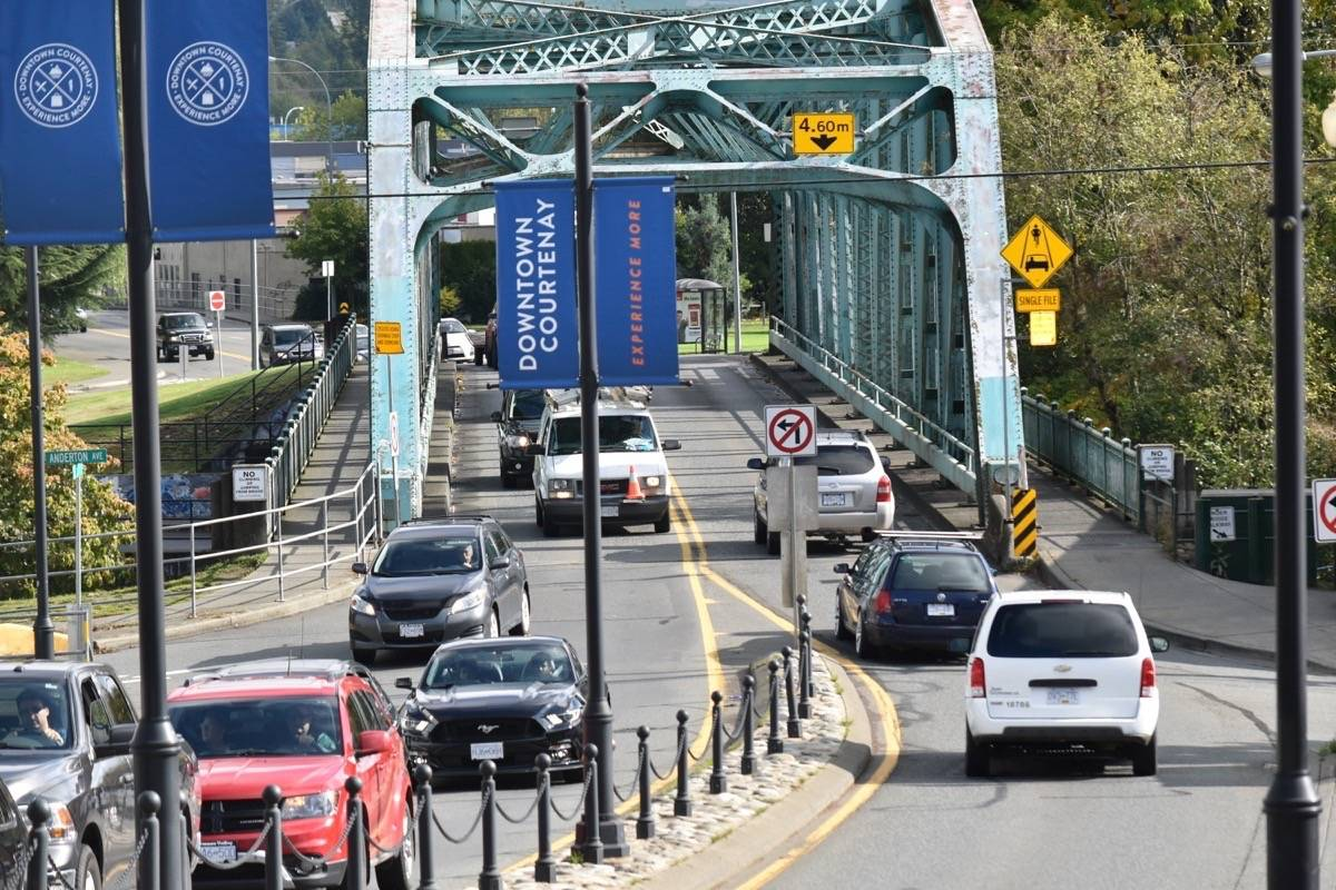 Courtenay Council Adopts Two Master Plans - 5th St Bridge