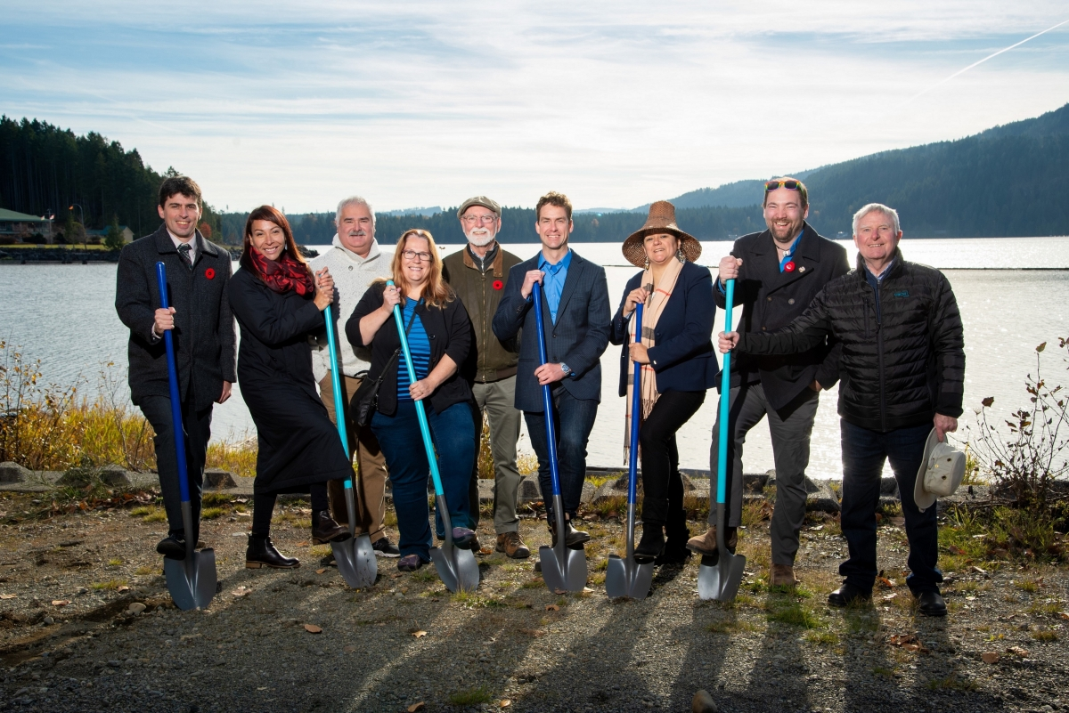 Comox Valley Water Treatment Project Ground Breaking Ceremony