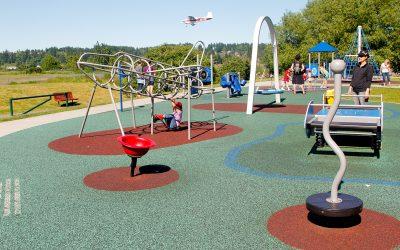Playground closure annoucement