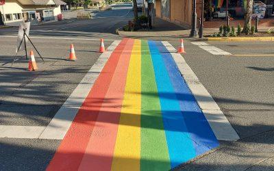 The Rainbow Crosswalk